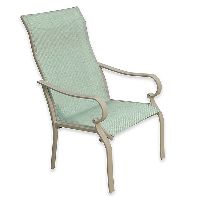 Alternate image 1 for Sling Dining Chairs in Teal (Set of 2)