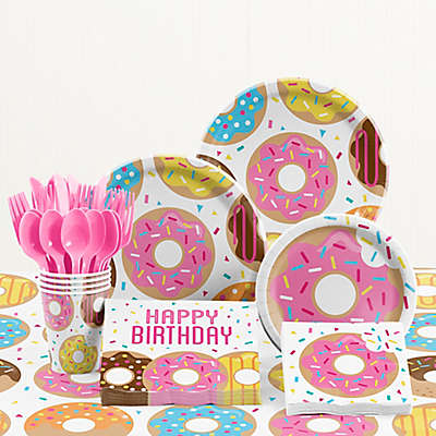 Creative Converting™ Donut Time Birthday Party Supplies Kit