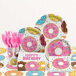 Creative ConvertingTM Donut Time Birthday Party Supplies Kit
