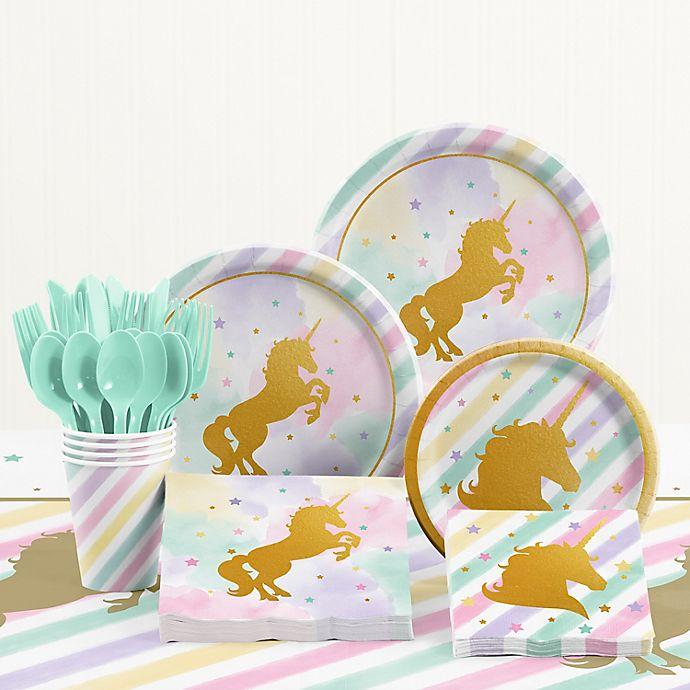 Creative ConvertingTM Unicorn Sparkle Birthday Party Supplies Kit