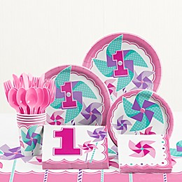 Creative Converting™ Turning One 1st Birthday Party Tableware Kit