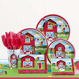 Creative Converting™ 81-Piece Farmhouse Fun Birthday Party Tableware Kit