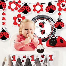 Creative Converting™ 8-Piece Ladybug Fancy 1st Birthday Party Décor Kit