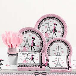 Creative Converting™ 81-Piece Party in Paris Birthday Tableware Kit