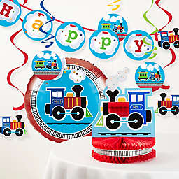 Creative Converting™ 8-Piece All Aboard Birthday Party Décor Kit