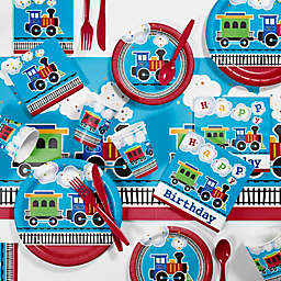 Creative Converting™ 81-Piece All Aboard Birthday Party Tableware Kit