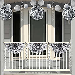 Creative Converting 4-Piece Foil Party Decorations in Silver