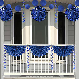 Creative Converting 4-Piece Foil Decorating Kit in Blue