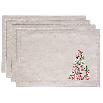 Lenox® French Perle Tree Placemats (Set of 4)