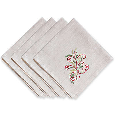 Lenox® French Perle Tree Napkins (Set of 4)