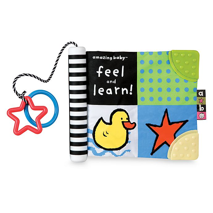 Alternate image 1 for Kids Preferred™ Amazing Baby™ Feel and Learn Soft Book
