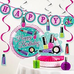 Creative Converting™ 8-Piece Sparkle Spa Birthday Party Décor Kit
