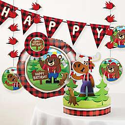 Creative Converting™ 6-Piece Lum-Bear Jack Birthday Party Décor Kit