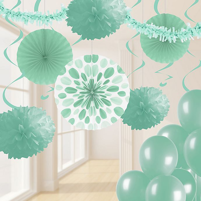 Alternate image 1 for Creative Converting 32-Piece Decorating Kit in Fresh Mint Green