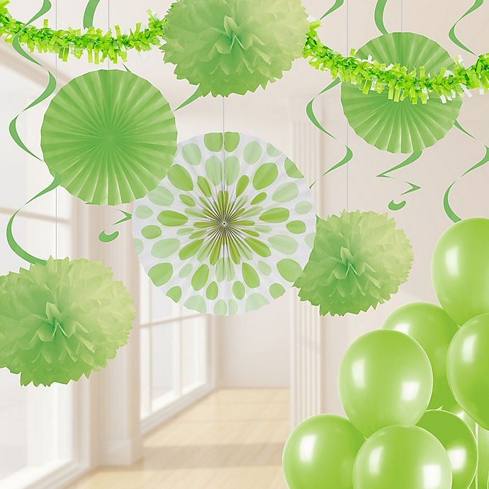 Alternate image 1 for Creative Converting 32-Piece Decorating Kit in Fresh Lime
