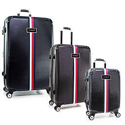 Tommy Hilfiger® Basketweave Expandable Hardside Spinner Luggage