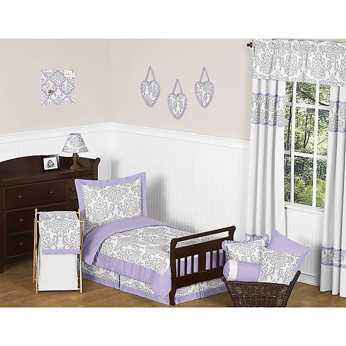 Alternate image 1 for Sweet Jojo Designs Elizabeth 5-Piece Toddler Bedding Set in Lavender/Grey