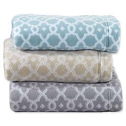 Great Bay Home Dara Arbour Fleece Sheet Set