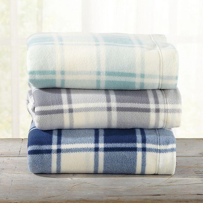 Great Bay Home Plaid Fleece Sheet Set | Bed Bath & Beyond