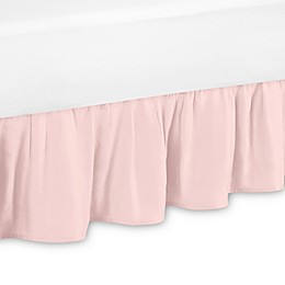 Sweet Jojo Designs Amelia Bed Skirt in Blush Pink