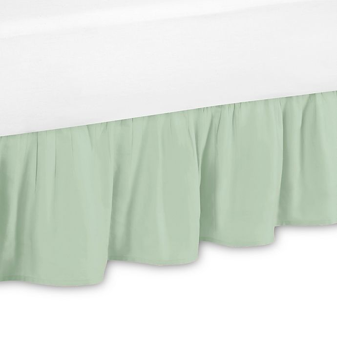 Alternate image 1 for Sweet Jojo Designs Ava Bed Skirt in Mint