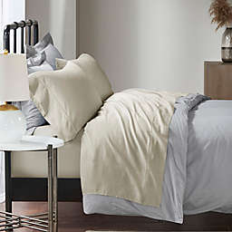 Madison Park 1500-Thread-Count Cotton Rich King Sheet Set in Ivory