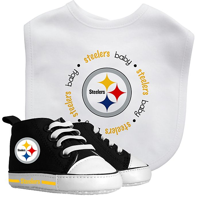 newest d3de7 4ca71 Baby Fanatic NFL Pittsburgh Steelers 2-Piece Gift Set | Bed ...