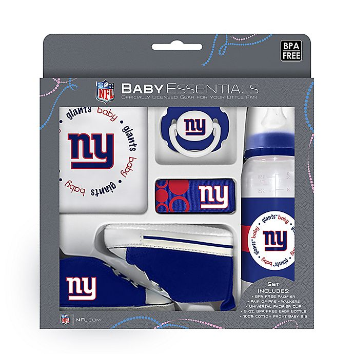 Baby Fanatic NFL New York Giants 5-Piece Gift Set  980b98a0e