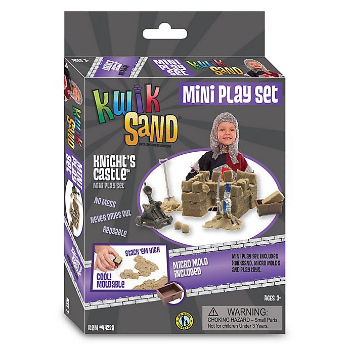Alternate image 1 for Be Good Company KwikSand® Knight's Castle Mini Playset