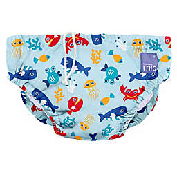 Bambino Mio® Deep Sea Reusable Swim Diaper in Blue