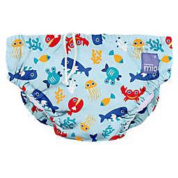 Bambino Mio® Deep Sea Reusable Swim Diaper in Blue