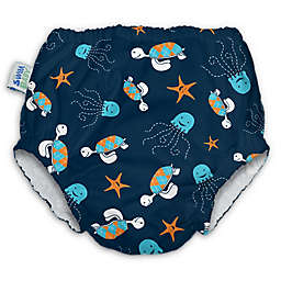 My Swim Baby® Sea Friends Reusable Diaper in Navy