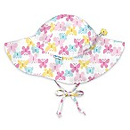 i play.® Infant Butterfly Brim Sun Hat in White