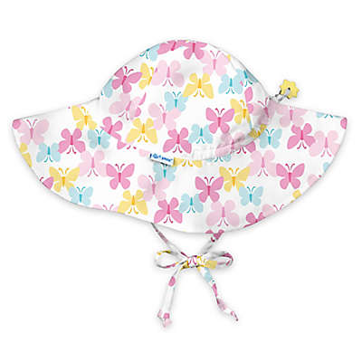 i play.® Butterfly Brim Sun Hat in White