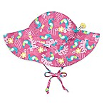i play.® Newborn Toucan Brim Sun Hat in Hot Pink