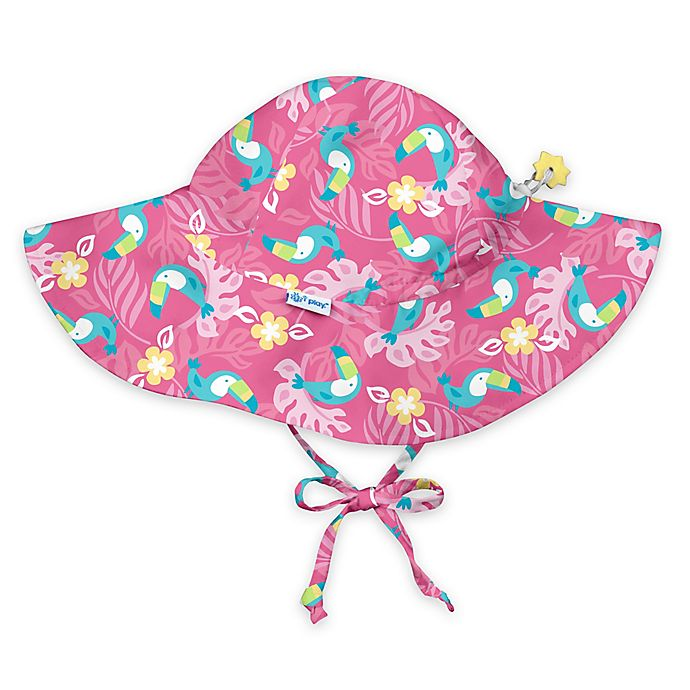 bc5599b206a i play.® Toucan Brim Sun Hat in Hot Pink