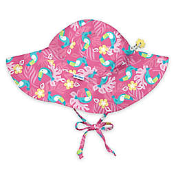 i play.®  Toucan Brim Sun Hat in Hot Pink