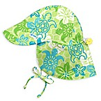 i play.® Size 9-18M Newborn Turtle Stamp Flap Sun Hat