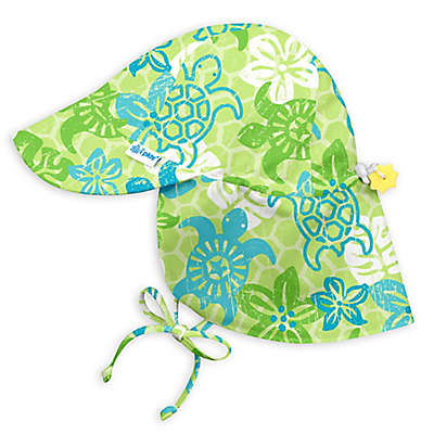 i play.® Turtle Stamp Flap Sun Hat