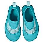 i play.® Size 4 No-Slip Swim Shoes in Aqua