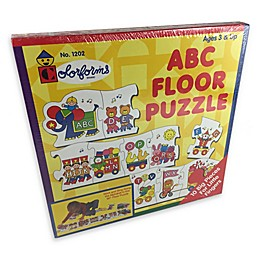 Colorforms® 10-Piece ABC Floor Puzzle