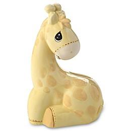 Precious Moments® My Precious One Giraffe Piggy Bank in Yellow