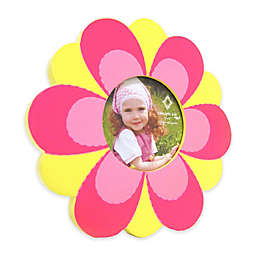 Concepts in Time Colorful Flower 4-Inch Picture Frame