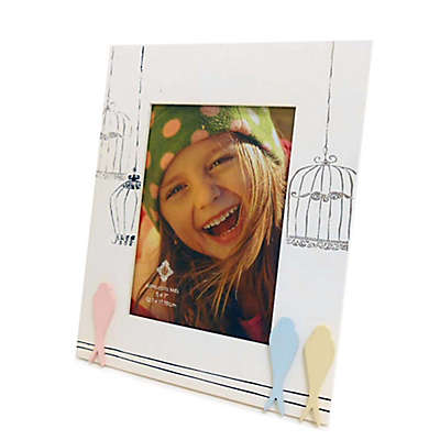 Concepts in Time Birdcage 5-Inch x 7-Inch Picture Frame