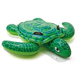 Intex Lil Sea Turtle Ride-On Pool Float in Green
