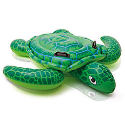 Intex Lil Sea Turtle Ride-On Pool Float in Green