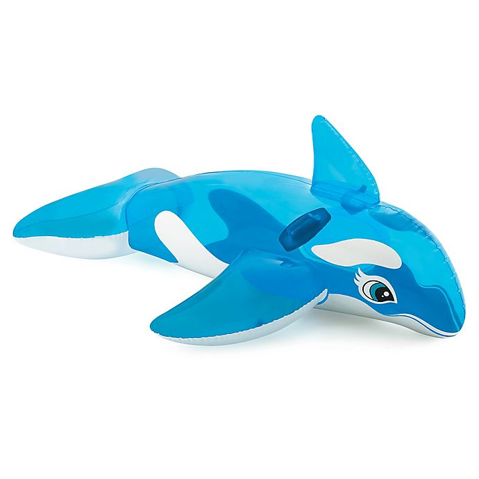 Alternate image 1 for Intex® Lil Whale Ride-On Pool Float in Blue