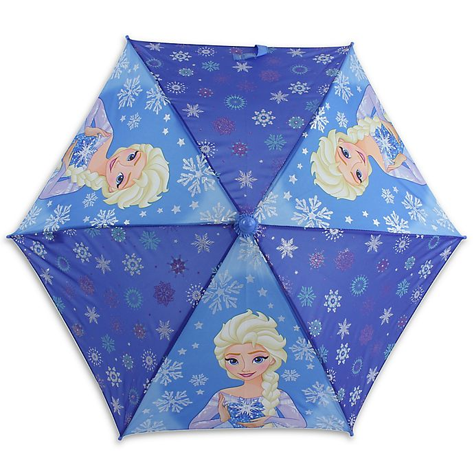 Alternate image 1 for Disney® Frozen Umbrella in Blue
