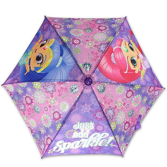 Alternate image 1 for Disney® Shimmer & Shine Umbrella in Purple