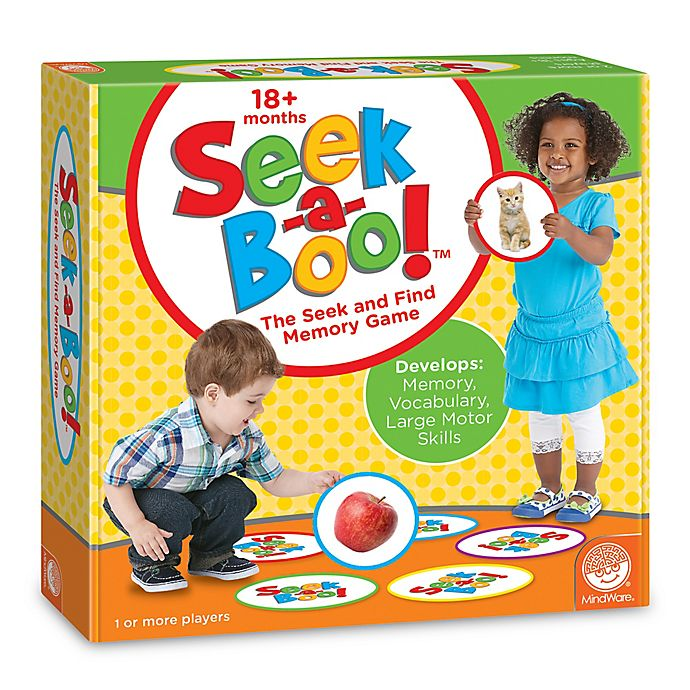 Alternate image 1 for Mindware® Seek-a-Boo! Memory Game